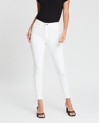 Rag & Bone Nina High-Rise Ankle Skinny Jeans