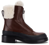 Chloé Roy Ankle Boots in Bark Brown | FWRD