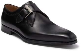 Magnanni Gerausi II Leather Monk Strap Shoe