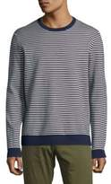 Saks Fifth Avenue Striped Crewneck Sweater