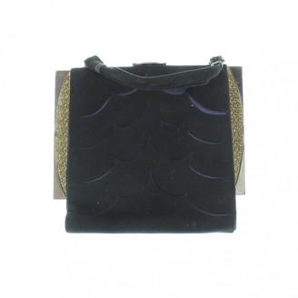 Christian Dior Black Velvet Clutch bags