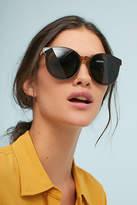 Anthropologie Olive Cat-Eye Sunglasses
