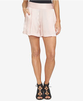 1 STATE 1.STATE Satin Pull-On Shorts