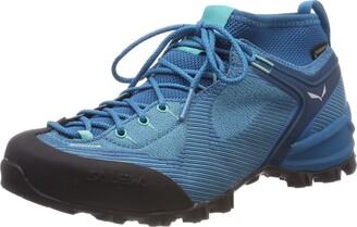 Salewa WS Alpenviolet Gore-TEX Trekking & hiking shoes Women's Blue (Malta/Lagoon Green) 6.5 UK