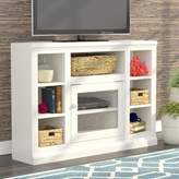 Beachcrest Home Coconut Creek Corner TV Stand for TVs up to 50 inches Color: Autumn Sage