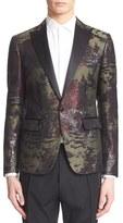 DSQUARED2 Metallic Camo Jacquard Dinner Jacket