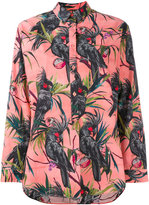 Paul Smith floral print shirt - women - Cotton - 48