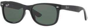 Ray-Ban Junior Sunglasses, RJ9052S New Wayfarer ages 7-10