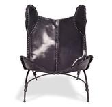 Ralph Lauren Home Safari Camp Chair Black