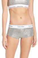 Calvin Klein 'Modern Cotton Collection' Pima Cotton Blend Boyshorts