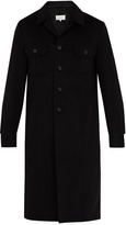 Maison Margiela Single-breasted cashmere coat