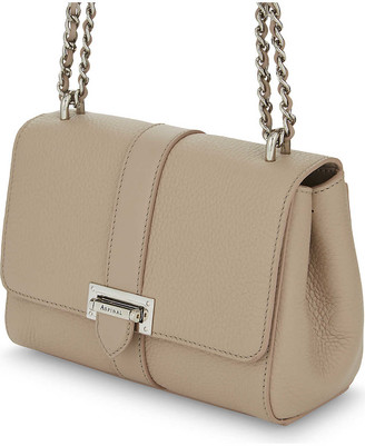 Aspinal of London Lottie small pebble leather handbag