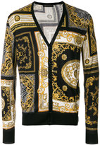 Versace patterned cardigan