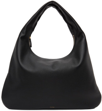 The Row Black Everyday Shoulder Bag