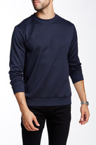 HUGO BOSS Salbo Logo Print Crew Neck Sweater