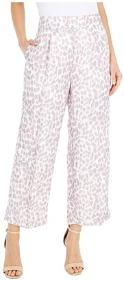 J.Crew Taryn Pants in Lilac Leopard (Ivory/Dusty Lilac) Women's Casual Pants