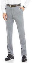 Hart Schaffner Marx Modern-Fit Solid Flat Front Dress Pants
