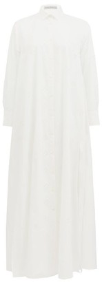 Palmer Harding Palmer//harding - Casablanca Cotton-blend Shirt Dress - White