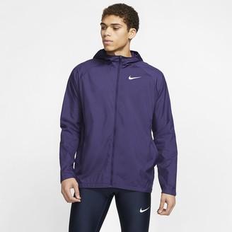 Nike Men's Hooded Running Jacket Essential