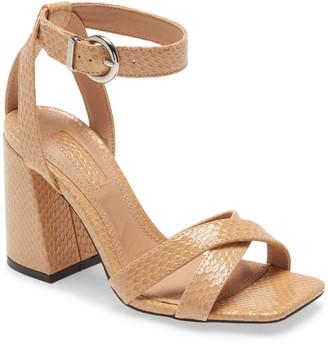 Topshop Sacha Ankle Strap Block Heel Sandal