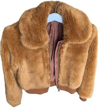 Tiger of Sweden Orange Faux fur Jacket for Women