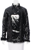 Rebecca Minkoff Vegan Patent Leather Jacket