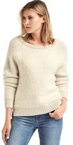Gap Slouchy boucle sweater
