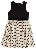 Ruby & Bloom Toddler Girl's Mix Media Party Dress