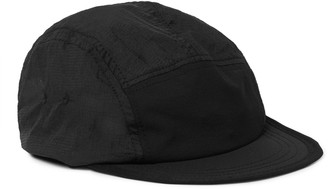 Satisfy Trail Shell And Ripstop Running Cap - Black