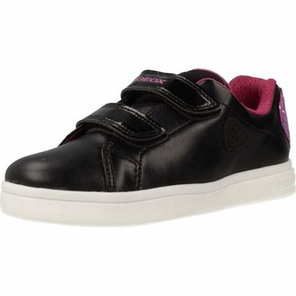 Geox Girls' J Djrock F Low-Top Sneakers