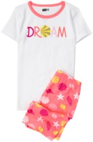 Crazy 8 Dream 2-Piece Shortie Pajama Set