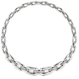 David Yurman Wellesley Short Chain Necklace with Diamonds