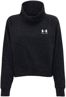 Under Armour Rival Fleece Wrap Neck Sweatshirt