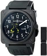 Bell & Ross Men's BR01-97CLIMB Flight Instruments Analog Display Swiss Automatic Watch