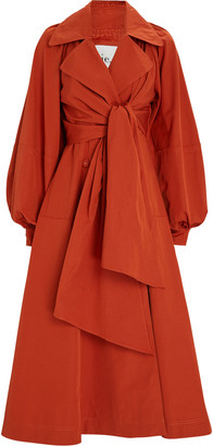 Aje Interlace Trench Dress