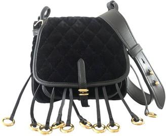 Prada Corsaire Black Velvet Handbags