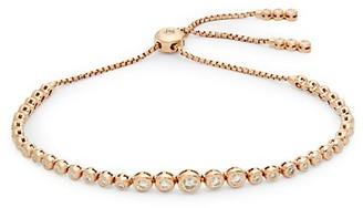 Saks Fifth Avenue Diamond 14K Rose Gold Slider Bracelet