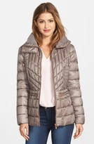 Bernardo Petite Women's Packable Jacket With Down & Primaloft Fill