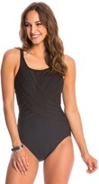 Miraclesuit Solid High Neck One Piece Swimsuit 8145977