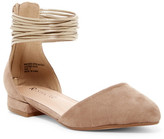 Restricted Liliana Ankle Cuff d'Orsay Flat