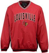 Colosseum Men's Louisville Cardinals Fair Catch Pullover