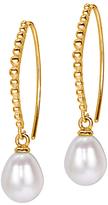 Dower & Hall Pearl Dot Drop Earrings
