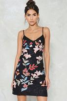 Nasty Gal nastygal You're a Special Part of Me Embroidered Dress