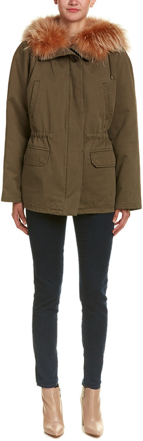 Yves Salomon Short Army Parka