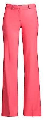 Theory Women's Demitria Wool Flare Pants
