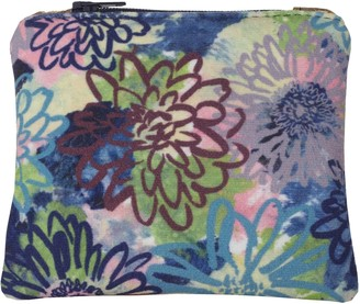 Rosa & Clara Designs Flora Velvet & Leather Purse