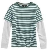 Volcom Toddler Boy's Impact Twofer Layered T-Shirt