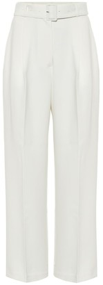 Frankie Shop Elvira stretch-crApe pants