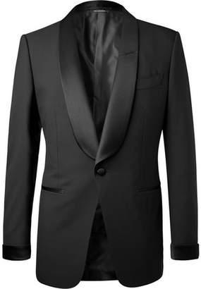 Tom Ford Black O'connor Slim-Fit Satin-Trimmed Super 120s Wool Tuxedo Jacket