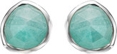 Monica Vinader Siren sterling silver amazonite stud earrings